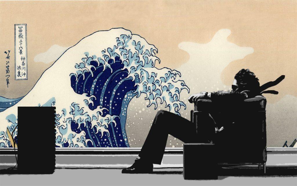 Kanagawa Oki Nami Ura